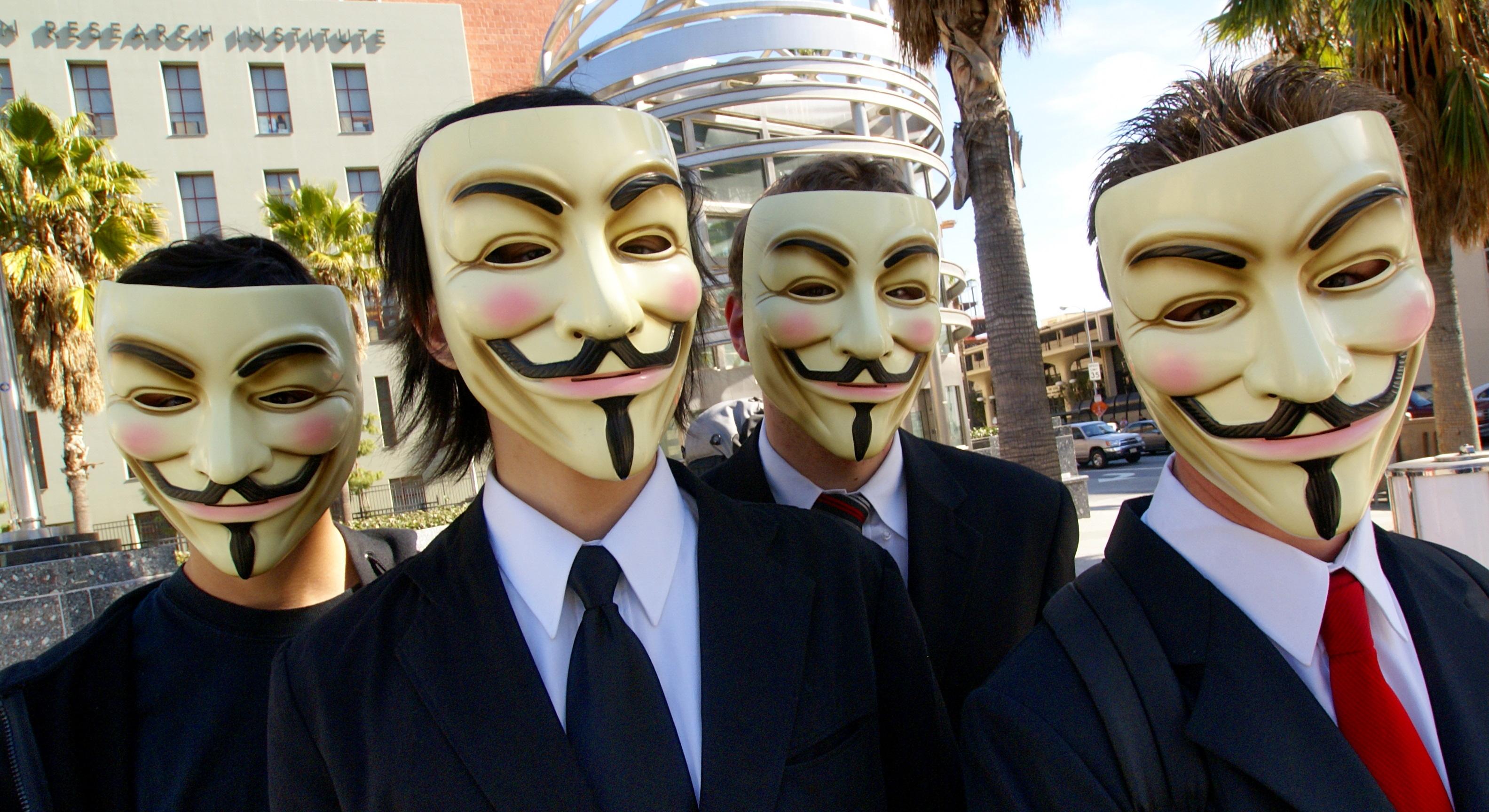 Anonymous a declarat război Chinei