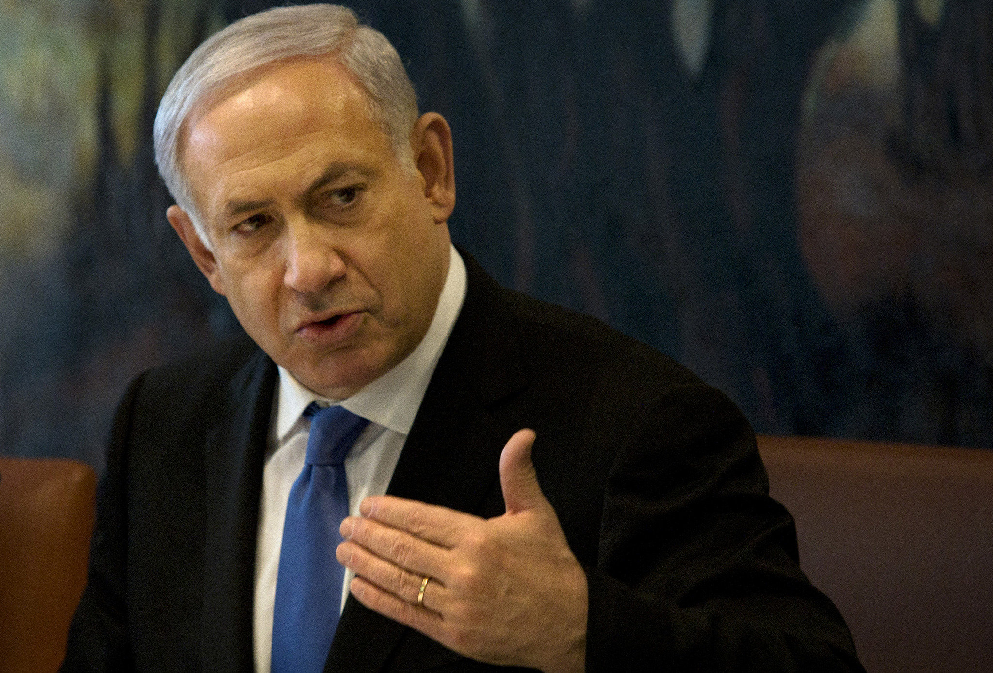 """Netanyahu: """"Ocupaţi-vă mai întâi de Siria, Iran şi Gaza"""""""