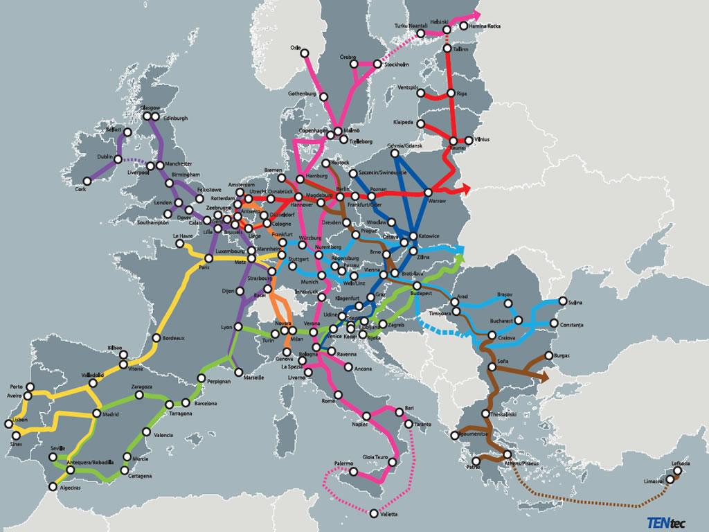 Cum S A Schimbat Harta Europeană A Căilor De Transport Capital Ro