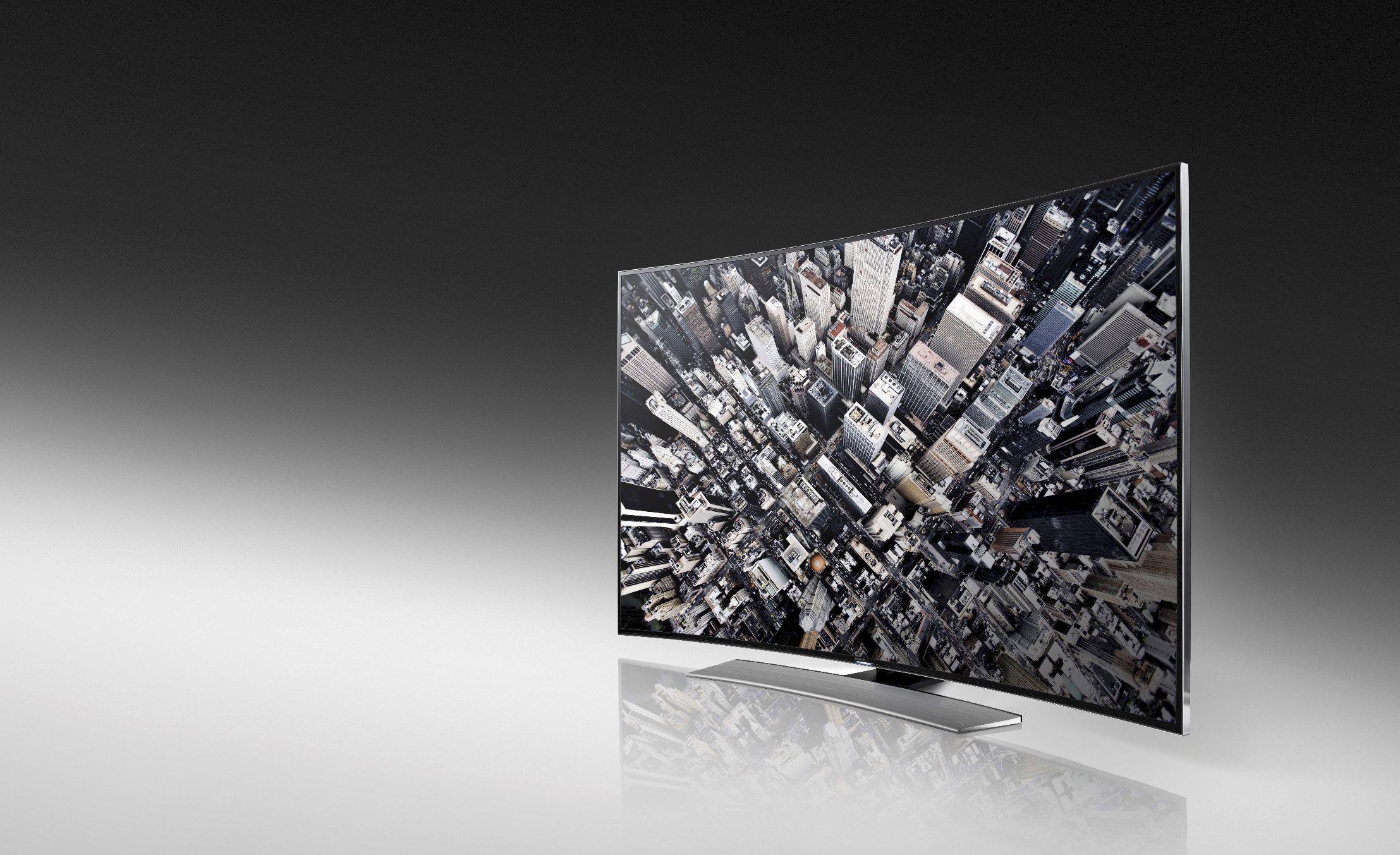 CES 2014: Cum arată televizoarele curbate 4K de la Samsung