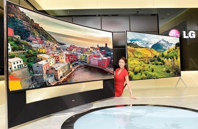 """CES 2014: LG dezvăluie televizorul """"5K"""""""