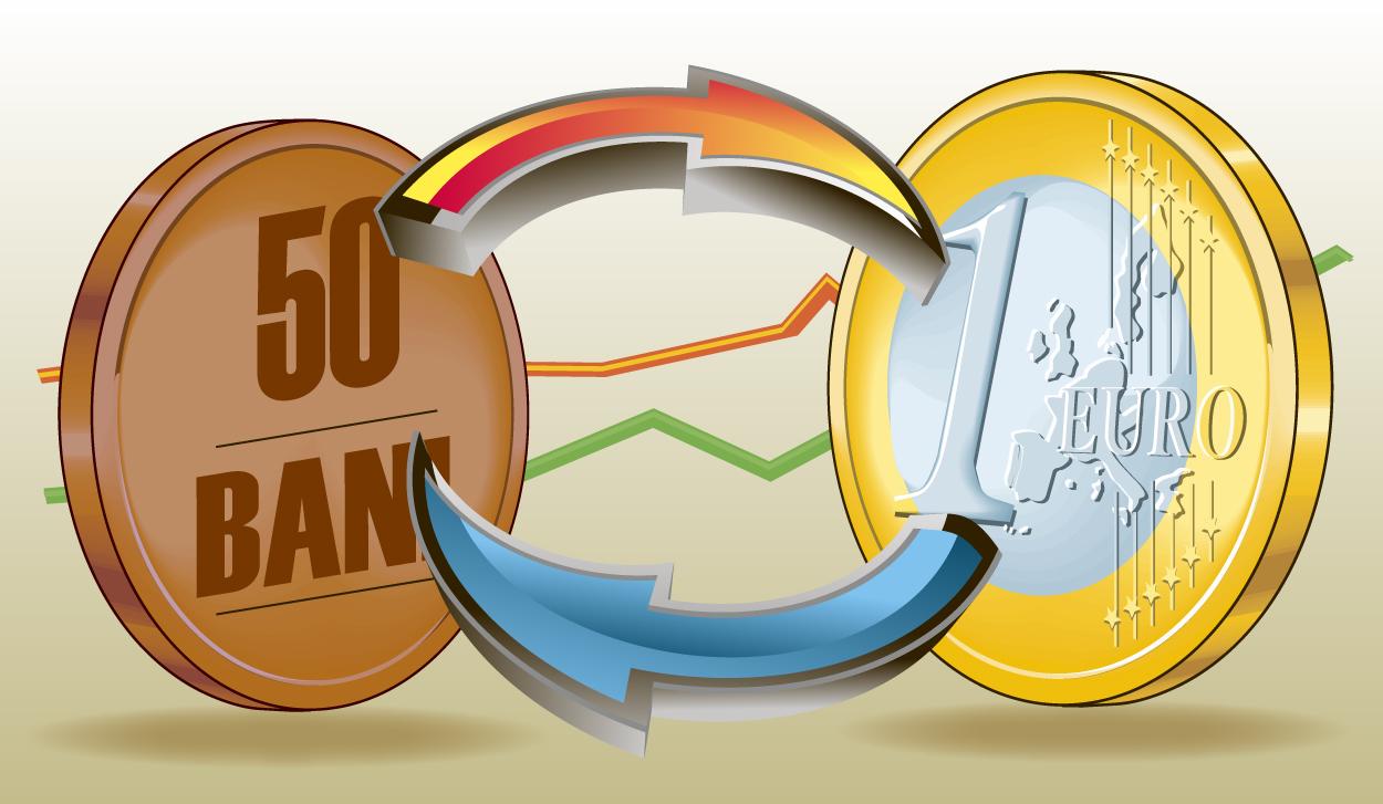 UPDATE: Cursul A EXPLODAT! Euro a ajuns pe piaţa interbancară la 4,4 lei!