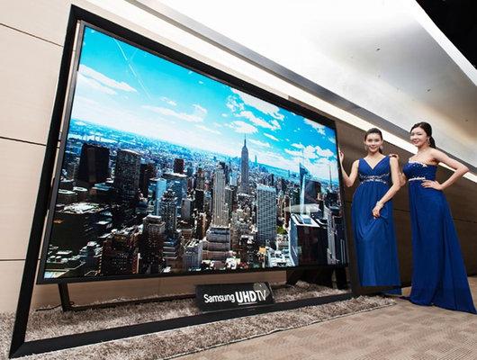 Samsung a primit 10 comenzi pentru televizorul de 150.000 de dolari