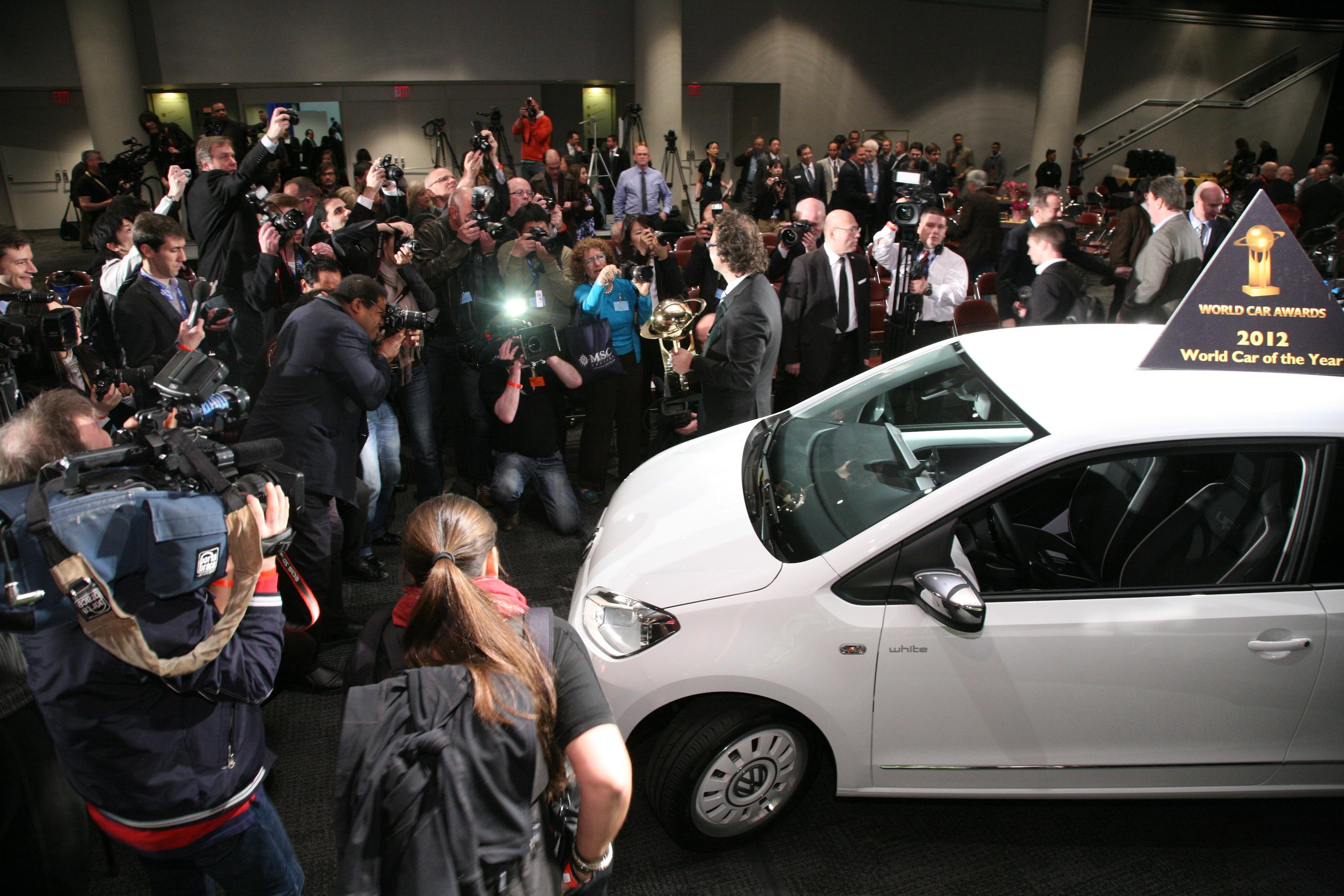 Volkswagen up! este World Car of the Year 2012