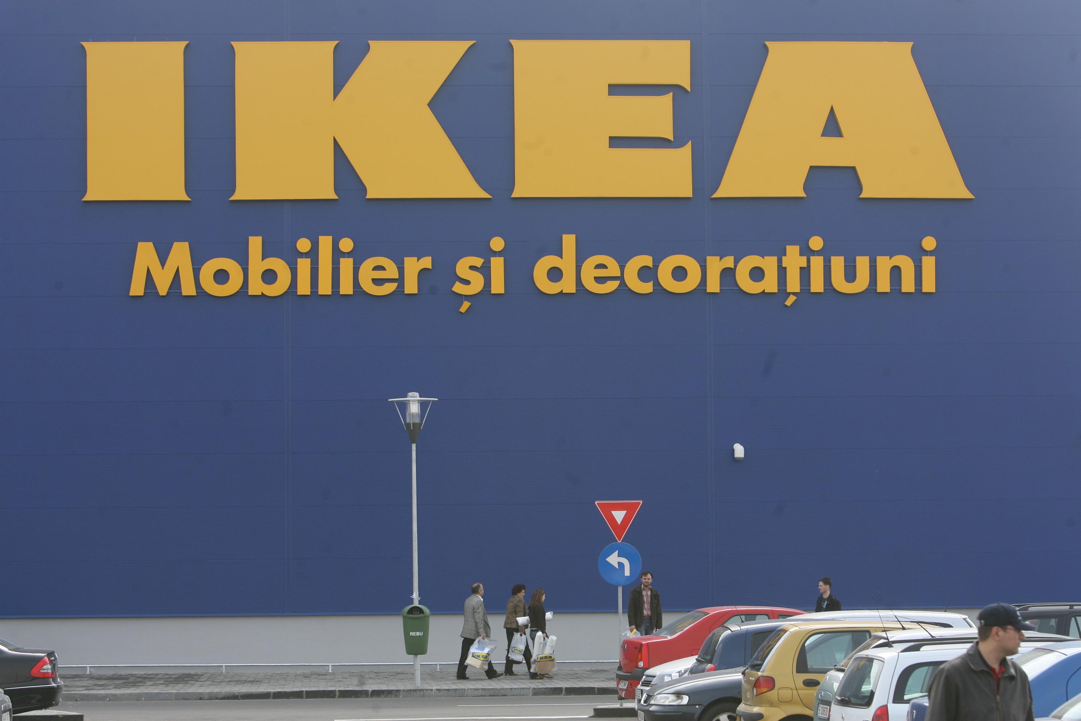 IKEA intră pe piaţa electrocasnicelor: Va vinde mobilier cu televizor integrat