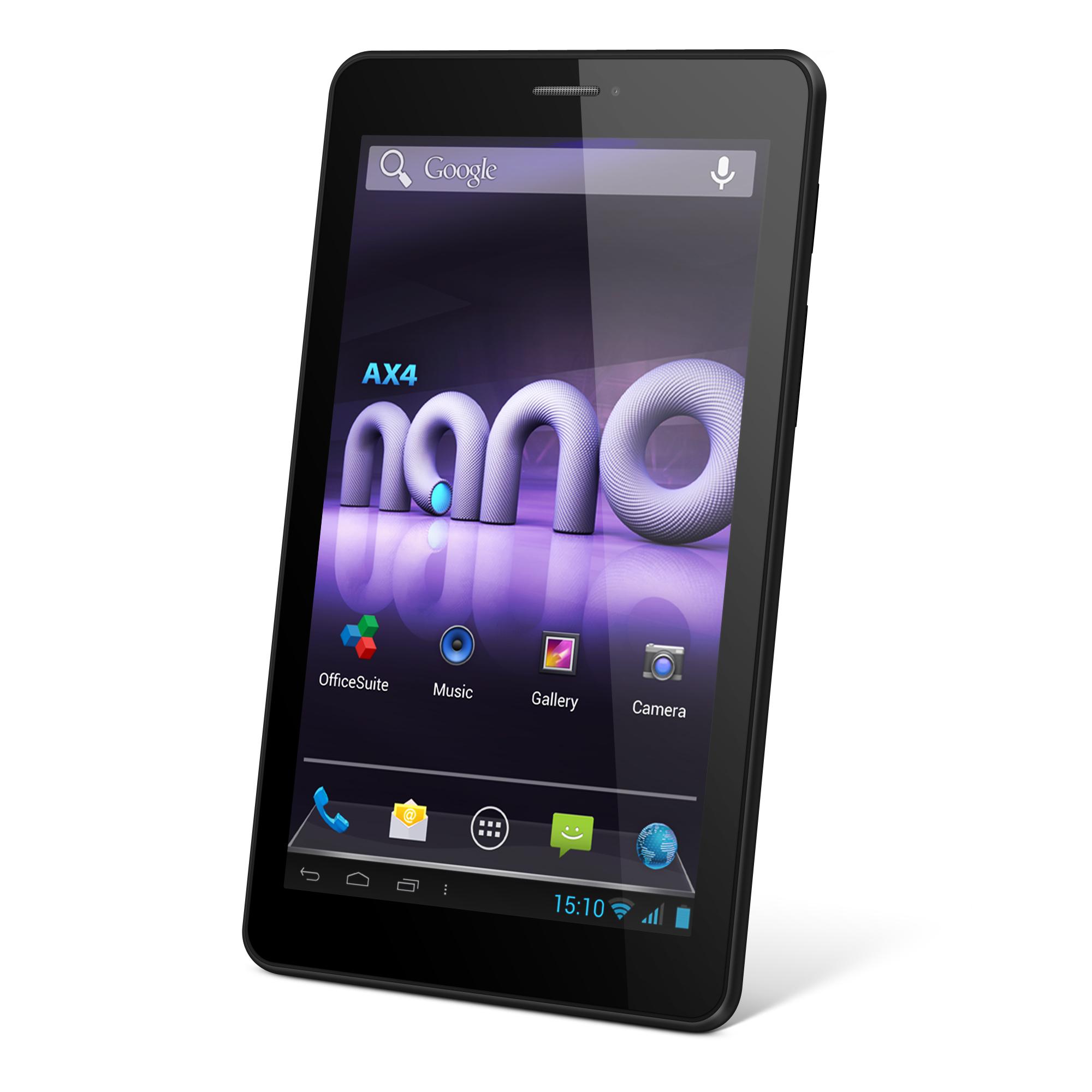 AX4 Nano, prima tabletă lansată de Allview în 2014