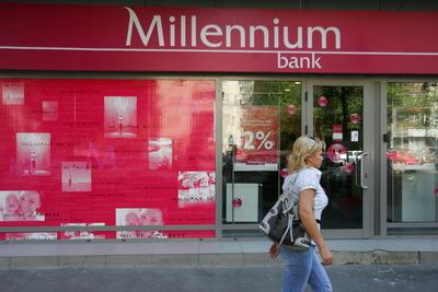 Millennium refinanţează carduri de credit şi overdrafturi la o dobândă de 12%