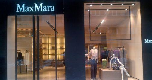S-a redeschis magazinul Max Mara