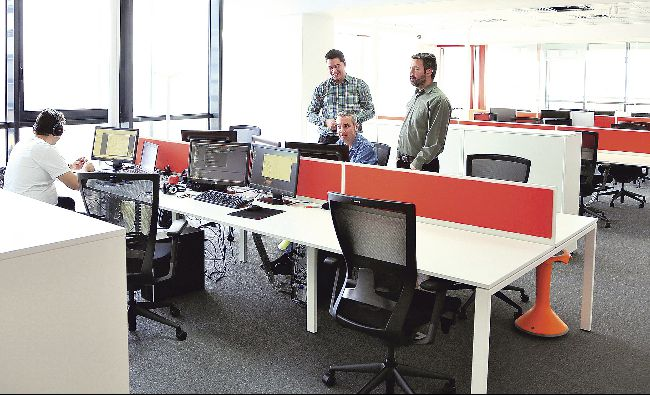 Tranzacţiile cu spaţii de birouri, în creştere în primele 9 luni