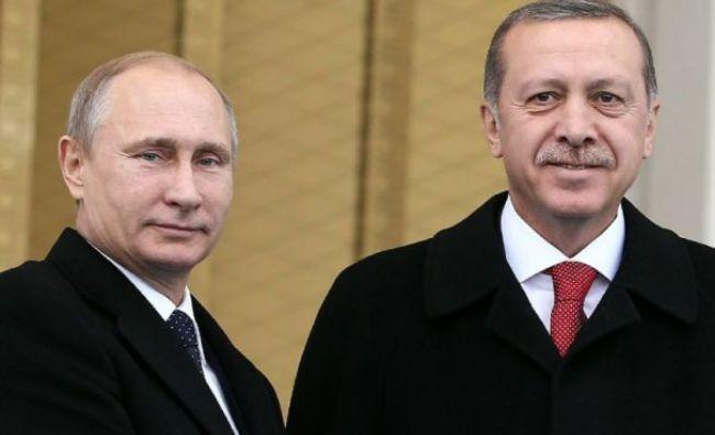 Vladimir Putin și Recep Tayyip Erdoğan s-au întâlnit la Instabul. Care este motivul
