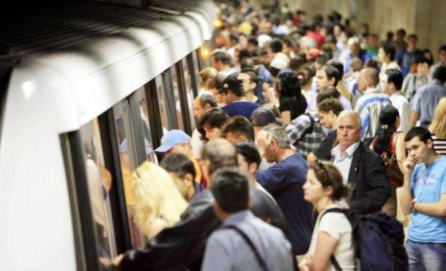 Haos la metrou. Circulația a fost oprită pe magistrala 2 în stația Aurel Vlaicu