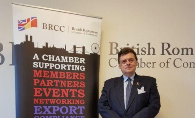 Șef nou la Camera de Comerț Româno-Britanică. Ce spune despre Brexit