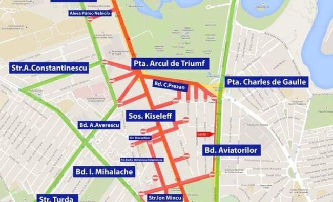 Restricţii de trafic în Capitală pentru repetiţia paradei militare de 1 Decembrie. Care sunt rutele OCOLITOARE