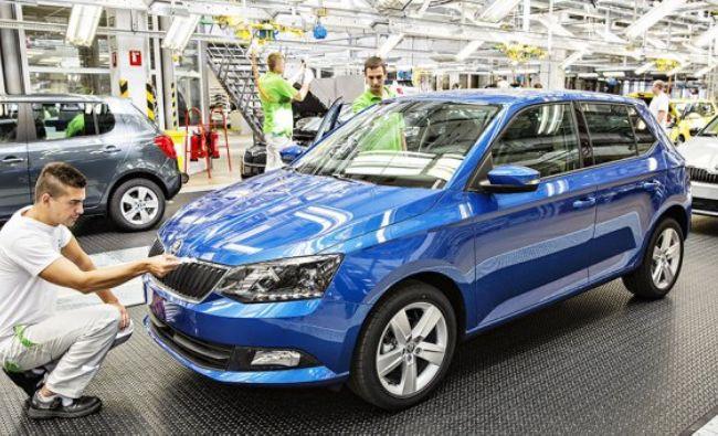 Skoda ar putea muta o fabrică în România