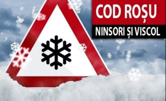 Cod roșu şi portocaliu de ninsori şi viscol! Atenționare meteo de ultim moment de la autorități, se anunță prăpăd în Europa