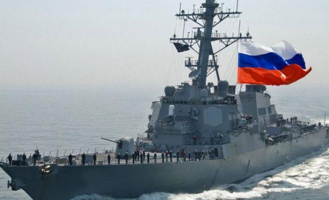 Rusia își trimite navele de război în Marea Neagră. A închis zona pentru navigație