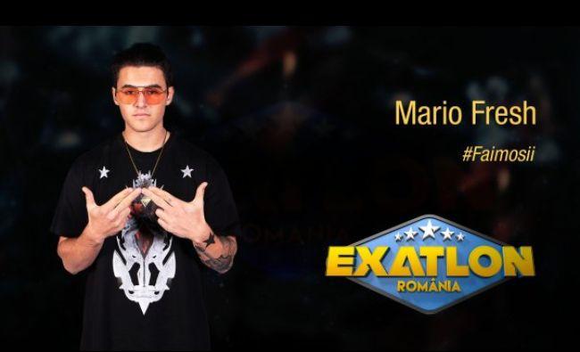 EXATLON: Motivul pentru care Mario Fresh se bucură că a fost eliminat din competiție