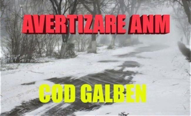 ANM anunță URGIA! COD GALBEN de fenomene periculoase. Cum va fi vremea în weekend