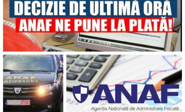 ANAF face ravagii! Niciun român nu va scapa de spaima Fiscului