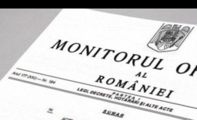 Ordinul ministrului a apărut acum în Monitorul Oficial! Schimbări importante pentru milioane de români