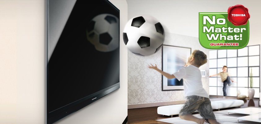 """Toshiba  extinde  """"Garanţia orice-ar fi""""  la  tablete şi televizoare"""