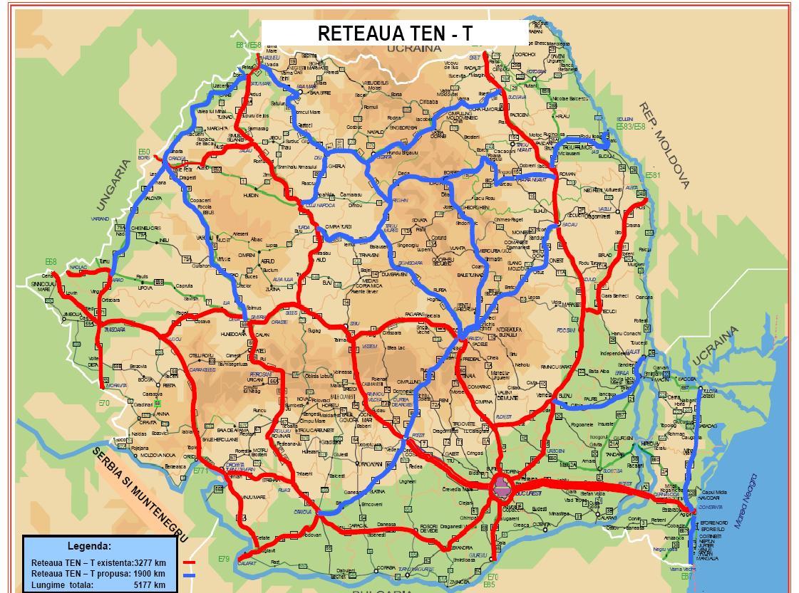 Harta Autostrăzilor Spre Europa Cand Vom Merge și La Nemți și La
