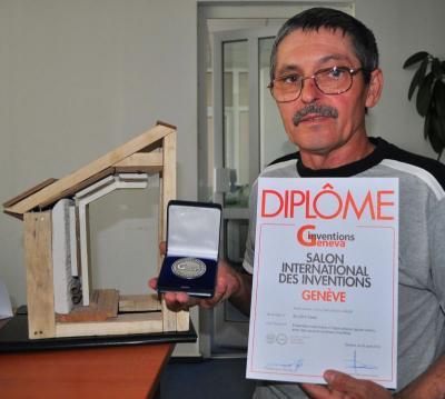 Un român, premiat la Geneva pentru un perete ce scade factura de încălzire la jumătate