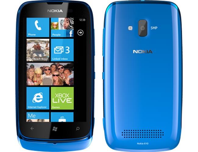 Nokia Lumia 610, cel mai accesibil terminal din gama Lumia