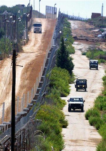 Israelul va începe să ridice un zid de 2 km la frontiera cu Libanul